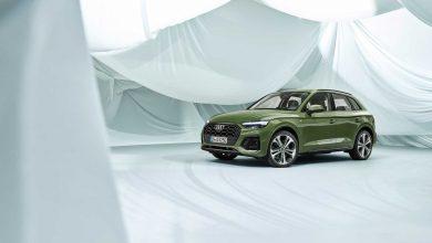 Photo of Audi Q5 restyling, tako da zadnji OLED farovi komuniciraju vani