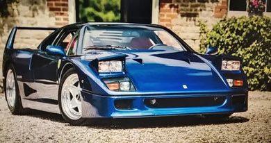 Photo of Ovaj prelijepi plavi Ferrari F40 prodan je po rekordnoj cijeni