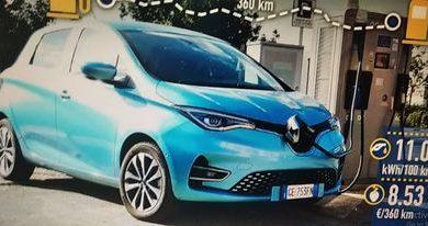 Photo of Renault Zoe (2021), test stvarne potrošnje
